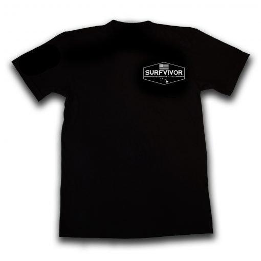 surfvivororiginalbrandtshirtblack