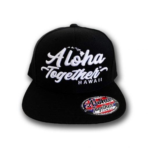 Aloha Together Hat Black 2