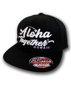 Aloha Together Hat Black 1