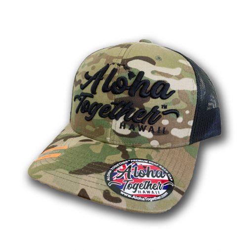 Aloha Together Camo Hat 2