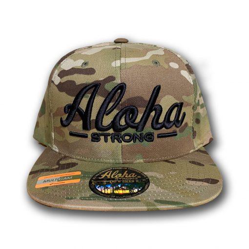 AlohaStrongScriptCamouHat2