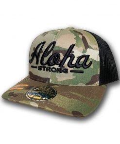 AlohaStrongScriptCamouMeshHat1