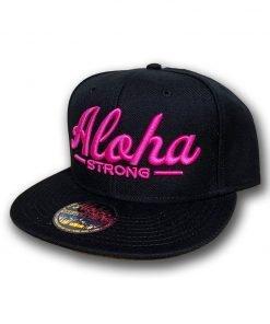 AlohaStrongScriptPinkHat1