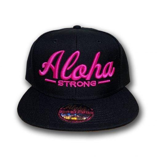 AlohaStrongScriptPinkHat2