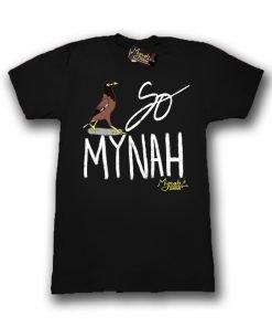 So Mynah Tshirt Black