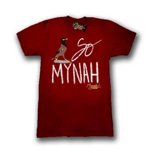 So Mynah T-Shirt Maroon