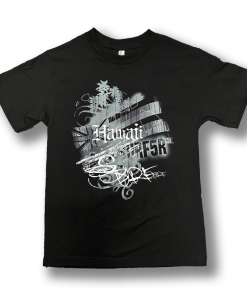 Hawaii Surf Scribble Tee